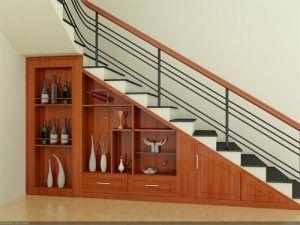 Mẫu cầu thang sắt hộp hiện đại đẹp giá rẻ