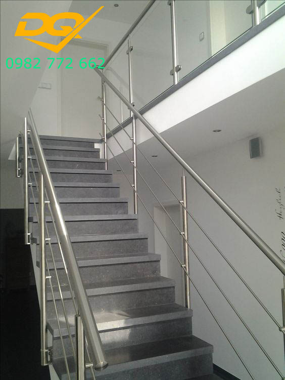 Cầu thang inox#4