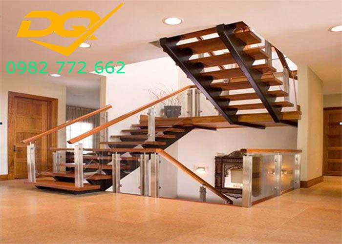 Cầu thang nhà lệch tầng#10