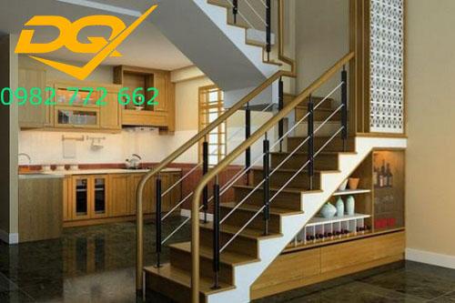 Cầu thang nhà lệch tầng#2