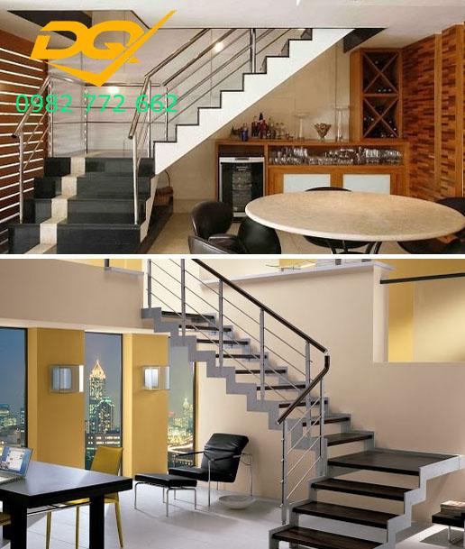 Cầu thang nhà lệch tầng#5