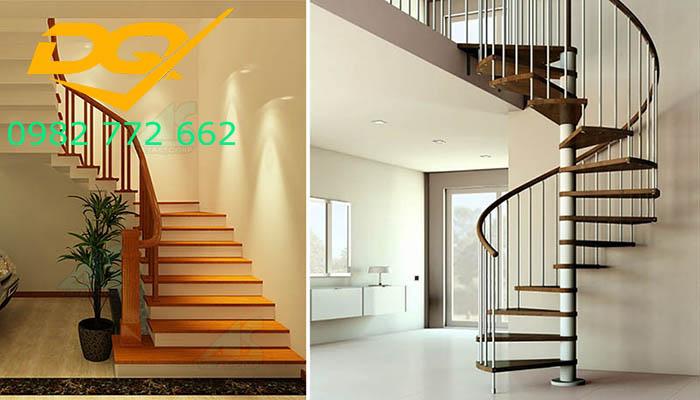 Cầu thang nhà lệch tầng#8