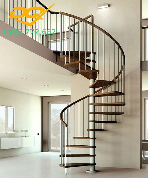 Cầu thang xoắn ốc cho nhà hẹp#2