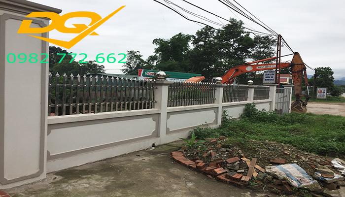 Mẫu hàng rào inox 304 đẹp giá rẻ nhất 2019