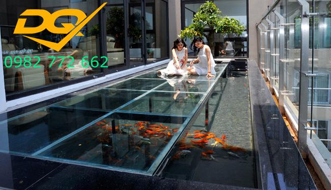 Nhận làm sàn nhà bằng kính cường lực chất lượng