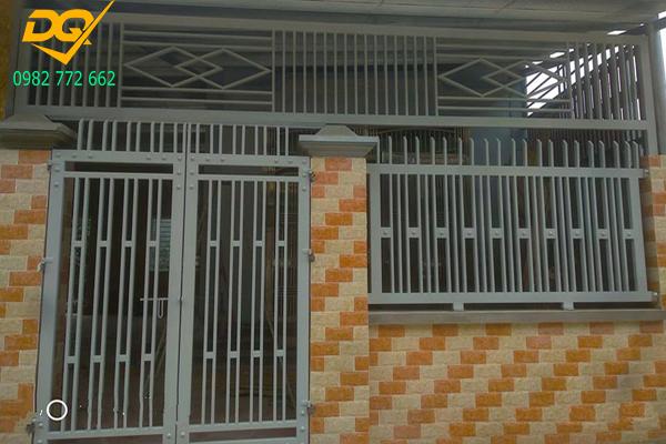 Mẫu hàng rào sắt chống trộm - 1