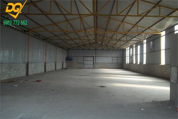 Mẫu nhà xưởng lợp mái tôn - Mẫu 7
