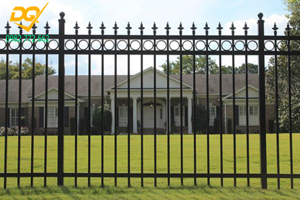 Mẫu hàng rào sắt đặc đẹp - 11