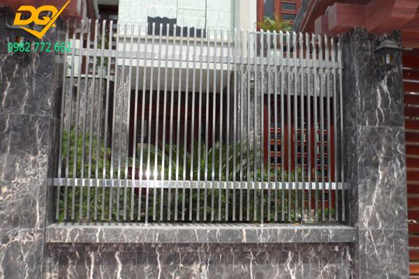 Mẫu hàng rào inox đẹp - 4