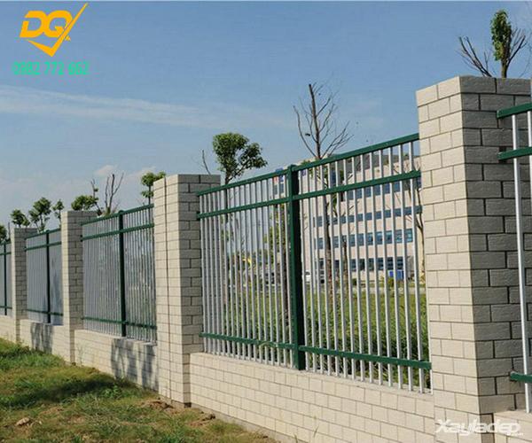 Hàng rào sắt hộp mạ kẽm - 14