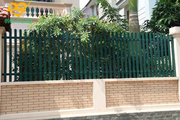Mẫu hàng rào sắt chống trộm - 5