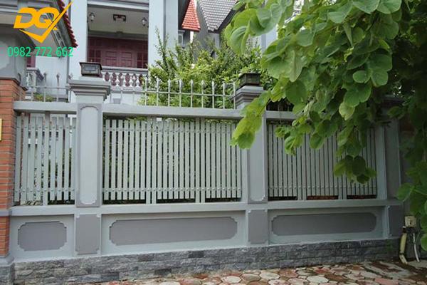 Mẫu hàng rào sắt chống trộm - 6