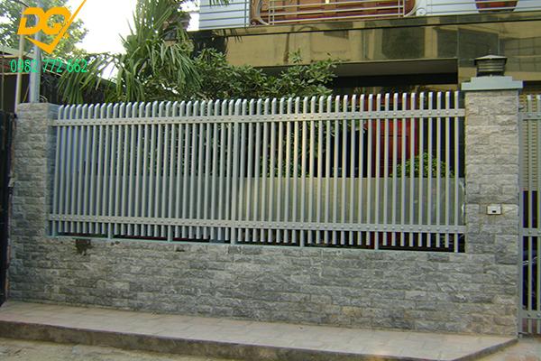 Hàng rào sắt hộp mạ kẽm - 16