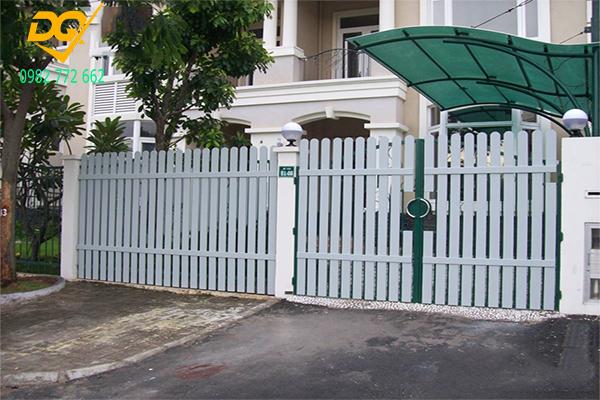 Hàng rào sắt hộp mạ kẽm - 17