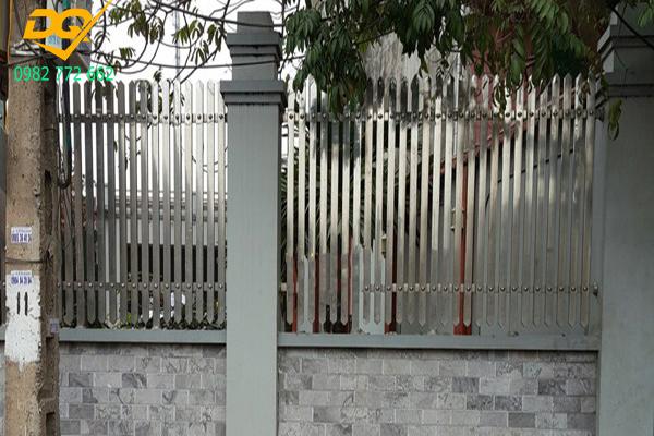 Mẫu hàng rào inox đẹp - 6