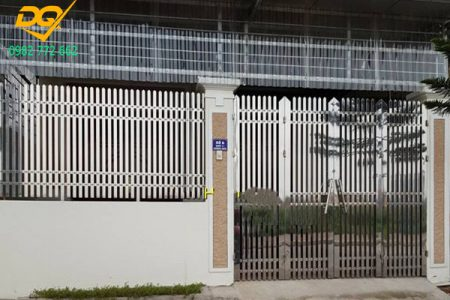 Mẫu hàng rào inox đẹp - 1