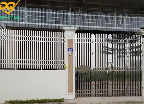 Mẫu hàng rào inox đẹp – 1