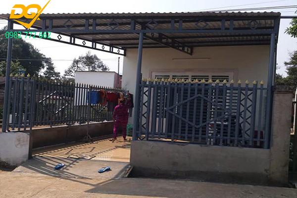 Mẫu hàng rào sắt chống trộm - 3