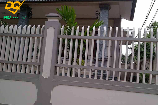 Hàng rào sắt hộp mạ kẽm - 18