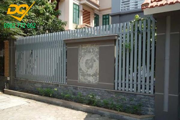 Hàng rào sắt hộp mạ kẽm - 19