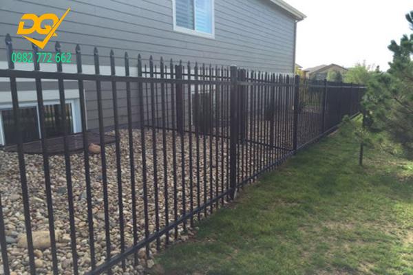 Mẫu hàng rào sắt chống trộm - 14