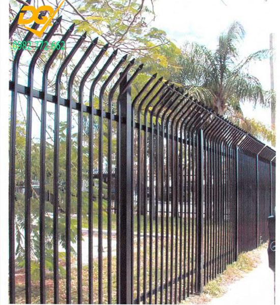 Mẫu hàng rào sắt đặc đẹp - 14