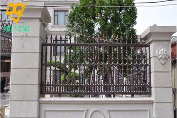 Hàng rào sắt đẹp - Mẫu 6