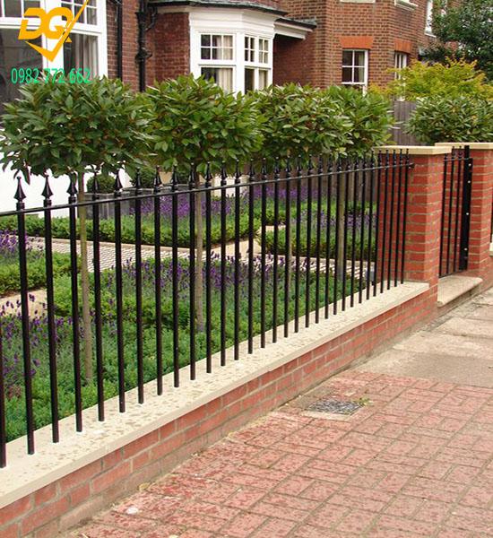 Hàng rào sắt đẹp - Mẫu 8