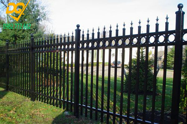Hàng rào sắt đẹp - Mẫu 3