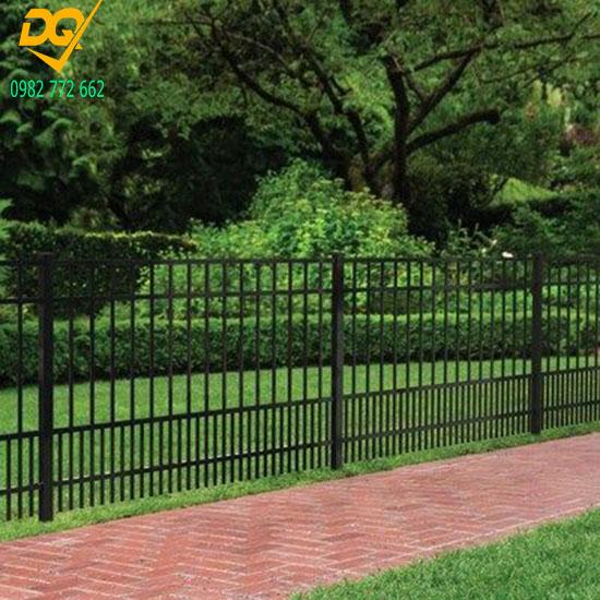 Mẫu hàng rào sắt đặc đẹp - 6