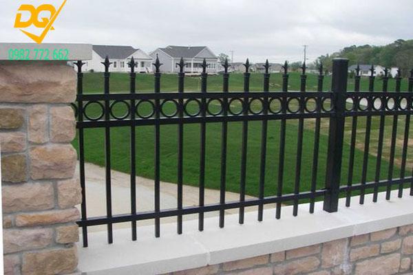Mẫu hàng rào sắt - 3