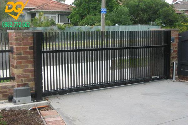 Mẫu hàng rào sắt - 4
