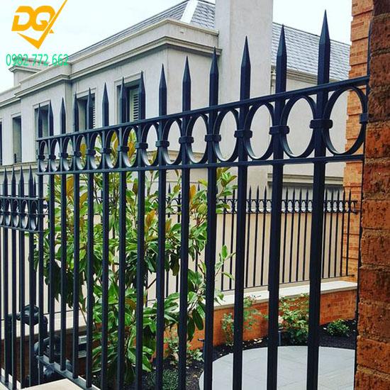 Hàng rào sắt đẹp - Mẫu 9