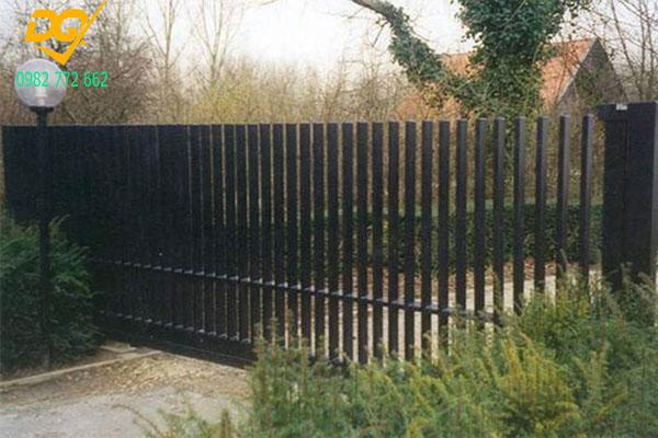 Mẫu hàng rào sắt đặc đẹp - 1