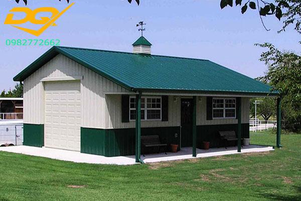 Gợi ý 3 mẫu nhà cấp 4 mái tôn nông thôn đẹp dưới 100 triệu